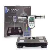 欧姆龙 体重身体脂肪称测量器HBF-358-BW 黑色