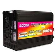 索尔 HDA-1000W 12V转220V高端逆变器 超大功率 带充电/ups
