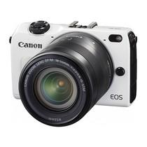 佳能 EOS M2 微单套机 白色(18-55mm,22mm)产品图片主图