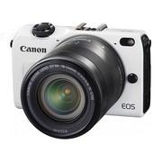 佳能 EOS M2 微单套机 白色(EF-M 18-55mm f/3.5-5.6 IS STM 镜头)