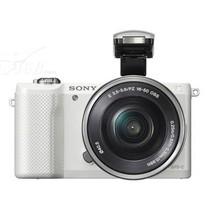 索尼 A5000 微单套机 白色(16-50mm,55-210mm)产品图片主图