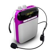 索爱 S-318 扩音机 赠送500MA充电器 便携式数码扩音器 丁香紫