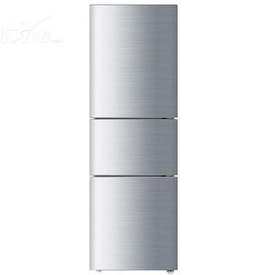 海尔 BCD-206STPA 206升三门冰箱(白色花纹)产品图片1