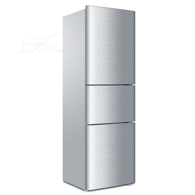 海尔 BCD-206STPA 206升三门冰箱(白色花纹)产品图片2