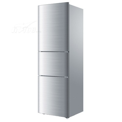 海尔 BCD-206STPA 206升三门冰箱(白色花纹)产品图片3