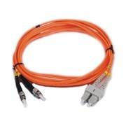 能士 SC-LC多模双芯1米跳纤NSFO-8042-C-SC-LC-MM-DP-1M