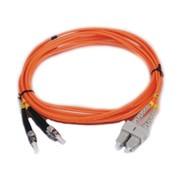 能士 SC多模双芯1米尾纤NSFO-8042-P-SC-MM-DP-1