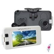 守护眼 VVA-CBN02 台湾原装 高端行业全高清1080P移动监控行车记录仪 白色 标配+东芝32G高速卡