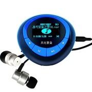 月光宝盒 爱国者(aigo)MP3 F820 FM收音录音 OLED屏纯音质无损音乐可连耳机音箱超薄 4G蓝色