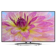 TCL L55E5700A-UD 55英寸3D智能4K云LED液晶电视(黑色)