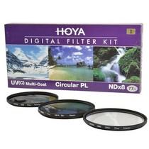 保谷 77mm KIT UV滤镜 CPL偏振镜 NDX8减光镜 滤镜套装产品图片主图