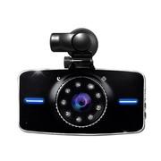 吉斯卡 超强夜视行车记录仪 170度高清超广角车载红外夜视 停 顶级配置高清夜视版+32G 含通电宝 24小时监控