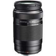 奥林巴斯 M.ZUIKO ED 75–300mm-II F4.8–6.7 黑色 超长远摄变焦 打鸟体育摄影必备 仅423g