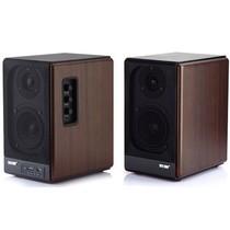 索爱 SA-201 2.0有源音箱 (红木纹色)产品图片主图