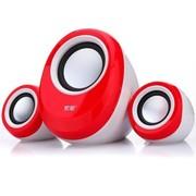 索爱 SA-C12 2.1有源音箱 (红色)