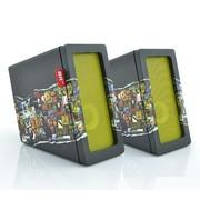 BRuno JAM 2.0立体声 电脑音箱 多媒体有源音响桌面HiFi入门级 木质 音箱标配+DIY 撕裂款贴皮