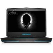 外星人 ALW14R-1528 14英寸游戏本(i5-4200M/8G/750G/GTX765M 2G独显/Win7/银色)