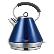 拓璞 DK265电水壶全不锈钢304全不锈钢电热水壶热水壶1.5L容量 蓝色