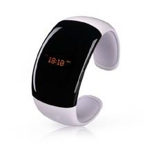 酷道 F1 智能手环手表 无线蓝牙手镯腕带腕表 三星苹果红米手机通用车载免提蓝牙耳机 白色产品图片主图