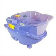 忘不了 分体式足浴盆全自动按摩洗脚盆电动按摩加热浴足盆泡脚盆FT-35 蓝色
