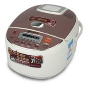 九阳 JYF-40FE05 智能电脑型电饭煲 聚能加热 黑晶内胆 白色 4L可预约
