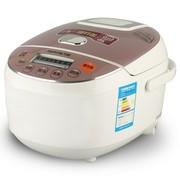 九阳 JYF-30FE05 智能电脑型电饭煲 聚能加热 黑晶内胆 白色 3L可预约