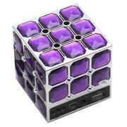 暴享 音箱 JH-802  插卡魔方音箱 五色选一 紫色