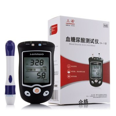 三诺 血糖尿酸测试仪 EA-11产品图片1