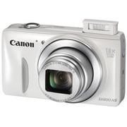 佳能 PowerShot SX600 HS 数码相机 白色(1600万像素 18倍光变 3英寸高清屏 25mm广角 WiFi/NFC)