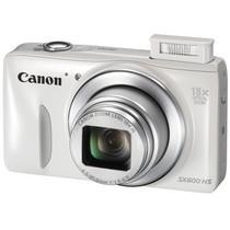 佳能 PowerShot SX600 HS 数码相机 白色(1600万像素 18倍光变 3英寸高清屏 25mm广角 WiFi/NFC)产品图片主图
