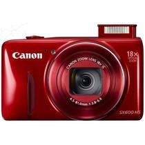 佳能 SX600 HS 数码相机 红色(1600万像素 3英寸液晶屏 18倍光学变焦 25mm广角)产品图片主图