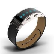 I-mu 智能健康手环 皮质腕带款 黑色