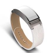 I-mu 智能健康手环 皮质腕带款 白色