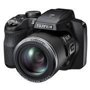 富士 S9400W 长焦数码相机 黑色(1600万像素 50倍光学变焦 3英寸LCD EVF取景器 Wi-Fi)