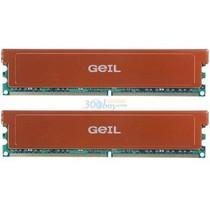 幻影金条 金邦(GEIL)白金条DDR2 1066 4G(2G×2条)台式机内存产品图片主图