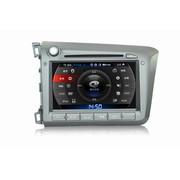 卡仕达 领航系列 本田新思域 专车专用车载DVD导航一体机CA277-T 导航+后视+包安装