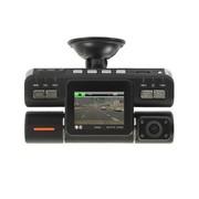 纳百川 N602车载行车记录仪 高清循环录影 双镜头录像 黑色