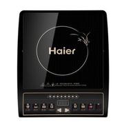 海尔 CH2012/01 按键式2100W 电磁炉(黑晶面板 金色印刷)