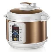 美的 WCS5035 特色开盖烹饪功能 一锅双胆电压力锅5L