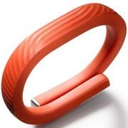 Jawbone UP24新款智能手环 蓝牙版 柿子红 L