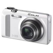 卡西欧 EX-ZR500 数码相机 白色 (1610万像素 3.0英寸液晶屏 12.5倍光学变焦 24mm广角)