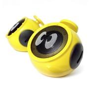 酷克斯 COOX/N1 笔记本电脑音箱2.0低音炮迷你USB台式小音响 雏菊黄