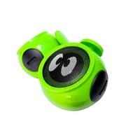 酷克斯 COOX/N1 笔记本电脑音箱2.0低音炮迷你USB台式小音响 香榭绿