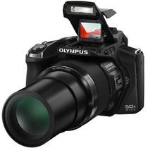 """奥林巴斯 SP-100EE 长焦数码相机 黑(""""鹰眼""""红外瞄准器 50倍光学变焦)(赠8G卡)产品图片主图"""