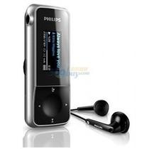 飞利浦 SA2MXX02K/93 2G MP3音频播放机 黑色产品图片主图