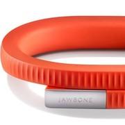 Jawbone UP24新款智能手环 蓝牙版 柿子红 M