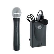 BQBQ 无线麦克风 2012/2133 首款全金属无线话筒 卡拉ok 家用 专业级 2012/ 1个手持1个领夹