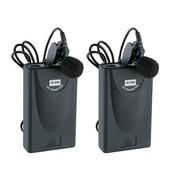 BQBQ 无线麦克风 4000 首款全金属无线话筒 卡拉ok 家用 专业级 主机+两个领夹