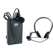 BQBQ 无线麦克风  822  首款全金属无线话筒 卡拉ok 家用 专业级 主机+ 一个耳迈一个领夹