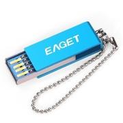 忆捷 U50 16GUSB3.0高速 铝镁合金防水防尘防静电U盘蓝色